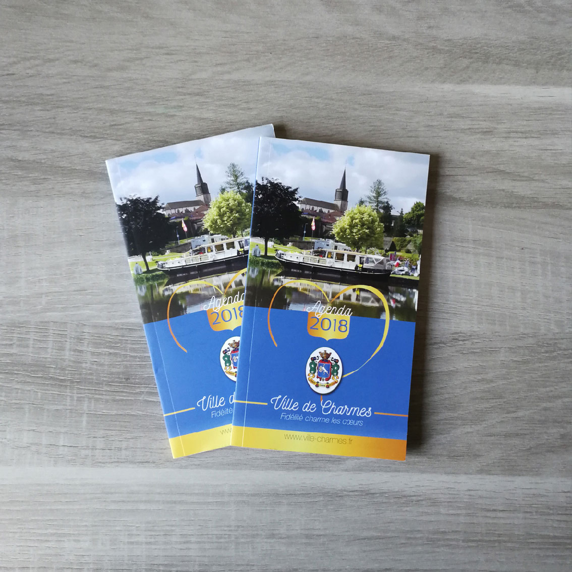 Agenda 2018 Ville de Charmes