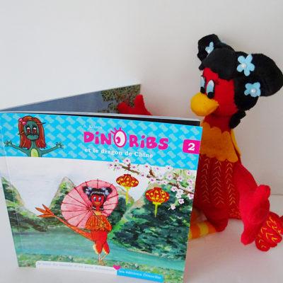 Livre jeunesse Dinoribs et le dragon de Chine