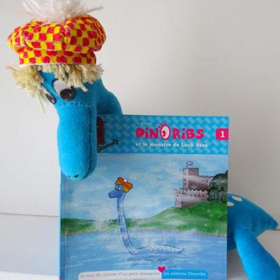 Livre jeunesse Dinoribs et le monstre du Loch Ness