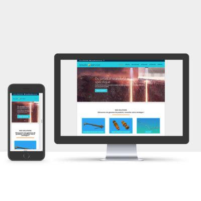 Site web Soudo Service