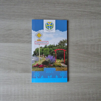 Agenda de poche Ville de Lérouville 2021