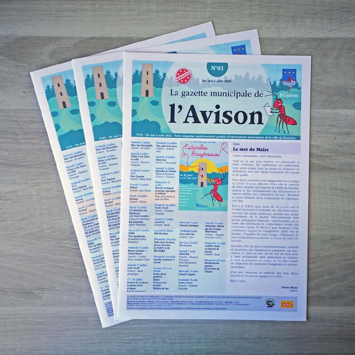 gazette municipale Ville de Bruyères